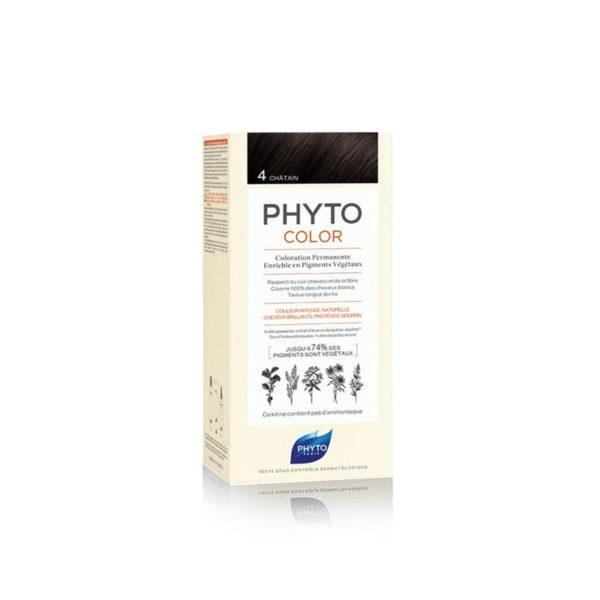Phyto Phytocolor 4 Castaño