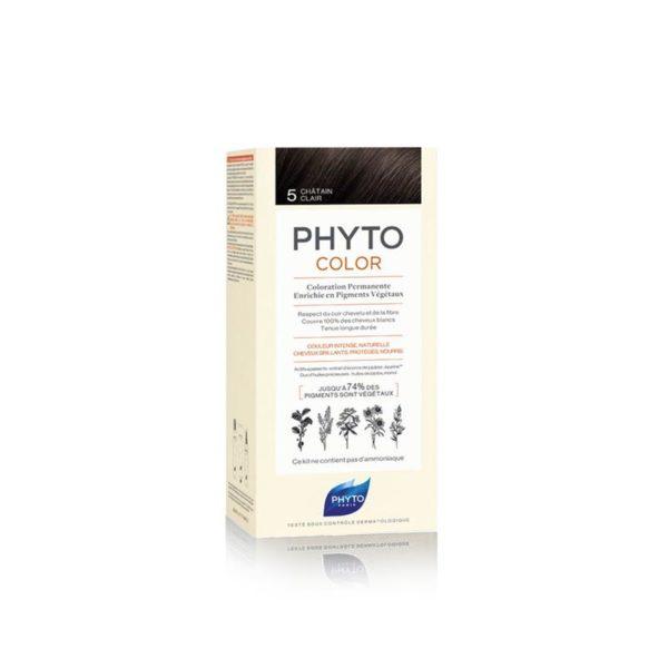 Phyto Phytocolor 5 Castaño Claro