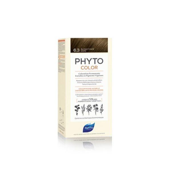 Phyto Phytocolor 6.3 Rubio Oscuro Dorado