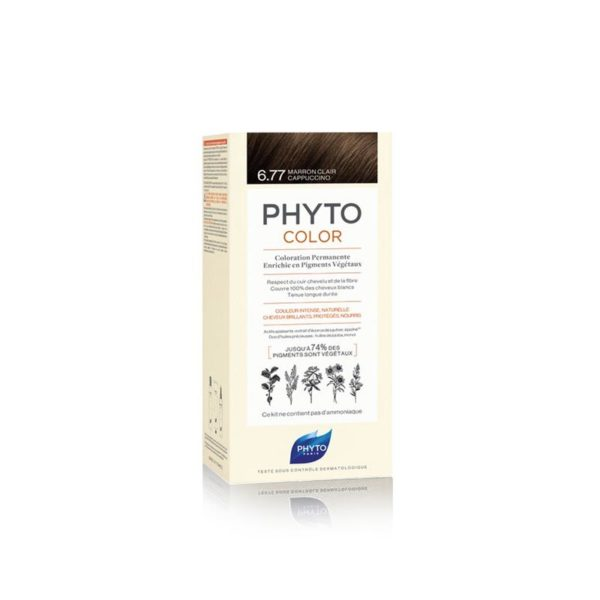 Phyto Phytocolor 6.77 Marrón Claro Cappuchino