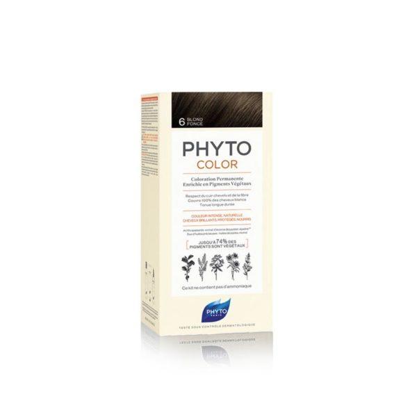 Phyto Phytocolor 6 Rubio Oscuro